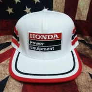 Honda power equipment  cap vintage tag made in usa