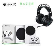 Xbox Series S數位版主機+Razer影鮫標準版耳機【現貨】【GAME休閒館】