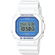 (Casio) Casio G-Shock DW5600WB-7 WHITE AND BLUE SERIES Watch Square Ana-Digi Tough Resin-DW5600WB-7