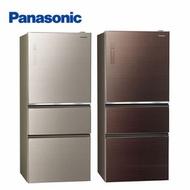 [館長推薦] Panasonic國際牌 610L 1級變頻3門電冰箱 NR-C610NHGS