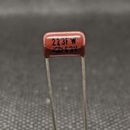 223J63V capacitor 223FW 63V P:7.5mm capacitor 0.022uf 63v 223J