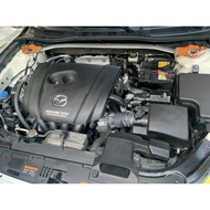 MAZDA 3 汽車電池更換 505電池工坊 20分鐘快速更換 國際牌 Q-100 Q100