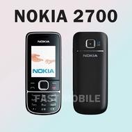 Nokia 2700โทรศัพท์มือถือปุ่มกด  ปุ่มกดไทย-เมนูไทยใส่ได้AIS DTAC TRUE ซิม4G โทรศัพท์ปุ่มดังเหมาะสำหรับผู้สูงอายุ