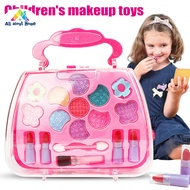 ABHของเล่นเจ้าหญิงสาวชุดเครื่องมือแต่งหน้ากระเป๋าเดินทางเครื่องสำอางแกล้งทำเป็นเล่นชุดของขวัญเด็ก