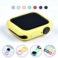 Candy Soft Silicone Case for Apple Watch 3 2 1 42MM 38MM Cover Protection Shell for Apple Watch 4 5 6 SE 40MM 44MM Watch Bumper