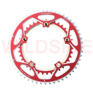 Litepro 130bcd chainring 53t 39t ultralight dual alloy road wheel folding bicycle crankcase bicycle parts