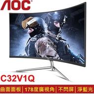 AOC 32型VA美型曲面螢幕(C32V1Q)