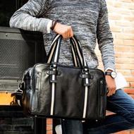 กระเป๋าถือผู้ชายเดินทางกระเป๋าสะพายผู้ชายกระเป๋าสะพายไหล่ขนาดใหญ่สั้นธุรกิจกระเป๋าเดินทาง