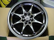 {順加輪胎}B5 類RAYS CE28 15吋4孔100 K8.FIT.LANCER.SWIFT.ALTIS.YARIS TE37 SSR