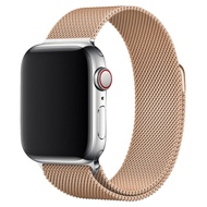 สายโลหะ Milanese 44 40 มม. สำหรับฉันดู Series 5 4 วง Rose GoldApple Watch Series 3 สายนาฬิกาสแตนเลสสตีล 38 42 มม=Milanese Metal Strap 44 40 mm for I watch Series 5 4 Bands Rose Gold Apple Watch Series 3 Stainless Steel Watch Band 38 42mm