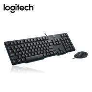 [富廉網] 羅技 Logitech MK100(第二代) PS/2鍵盤+USB滑鼠