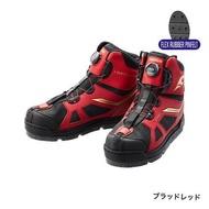 中壢鴻海釣具《SHIMANO》FS-176S 黑紅色 短統防滑釘鞋 短筒磯釣鞋 短筒鞋 短桶磯釣鞋