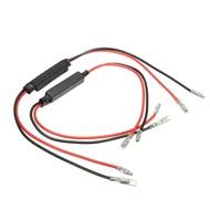 คู่ไฟเลี้ยวมอเตอร์ไซด์ไฟ LED ตัวต้านทานโหลด Flasher 12V 10W