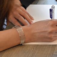 故宮授權-萬壽無疆手環  醫療級薄鋼飾品 不會過敏 祝健康好禮