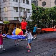 籃球式氣球傘