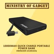 Energizer UE10016CQ 10000mAh Quick Charge Portable Power Bank