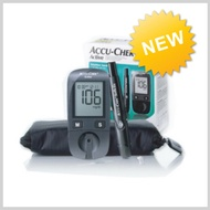 💖Accu-Chek💖Active Blood Glucose Monitoring Meter + Lancing Device +10 Lancets + 10 Strips-Accu-Chek/Active Glucose Meter/Shipping from Korea