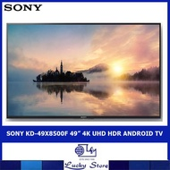 "SONY KD-49X8500F 49"" 4K UHD HDR ANDROID TV"