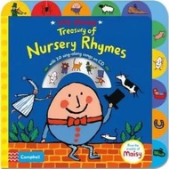 (現貨)Lucy Cousins Treasury of Nursery Rhymes(硬頁書+CD)