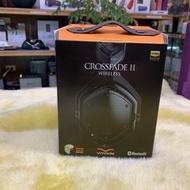 新音耳機視聽影訊 公司貨 V-MODA Crossfade 2 Wireless 無線藍牙耳機 黑