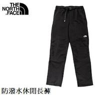 [ THE NORTH FACE ] 男 DWR防潑水休閒長褲 黑 / NF0A4NGZJK3