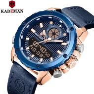 Kademan Cadman new men's dual display multi-functional outdoor sports water belt watch k9073