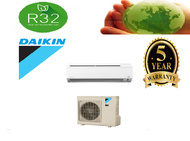 DAIKIN 1.5HP NON INVERTER WALL MOUNTED AIR CONDITIONER / AIRCOND FTV35P / RV35F-3WM-G1 (R32 GAS) WITH 5 YEARS WARRANTY