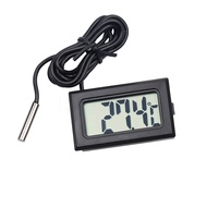 LCD Digital Thermometer Hygrometer Probe Fridge Freezer Thermometer Thermograph
