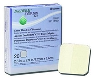 ConvaTec DuoDERM Extra Thin CGF Dressing - 4 x 4&quot  -(One Dressing)