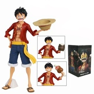 28ซม.Monkey D. Luffy Grandista Grandline Men Luffy Grandista Nero Action Figure Anime One Piece PVC Collectionของเล่น