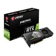 『高雄程傑電腦』微星 MSI RTX2070 AERO 8G DDR6 新光線追蹤技術 GTX1080可考慮【實體店家】