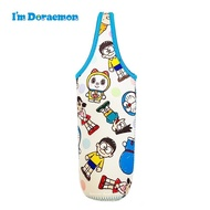 哆啦a夢 【TW SAS日本限定】50th 點點家族版 寶特瓶提袋 / 水壺袋 / 水壺套 / 保溫杯套