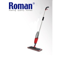 Roman Easy Floor Cleaning Microfiber Cloth Flat Spray Mop 360 Degree Rotating