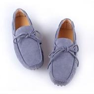 【米蘭精品】懶人鞋真皮豆豆鞋(時尚英倫純色套腳男休閒鞋8色65k42)