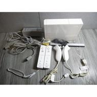 二手-任天堂 Wii RVL-001 (jpn) 主機 日本專用機-附電源線+AV端子+左右搖桿X2-功能正常