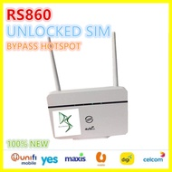 100% RS980 New Modified (UNLOCK TO ALL SIM -NEW) Modem Wireless Router Wifi router 4G LTE CPE MOBILE Like B310 Huawei RS980