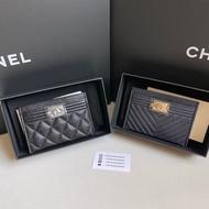 Chayadashop NEW Chanel Boy Card holder Wallet