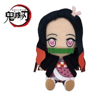 【鬼滅之刃 絨毛玩偶】鬼滅之刃 絨毛玩偶 娃娃 竈門禰豆子 Chibi 日本正版  該該貝比日本精品