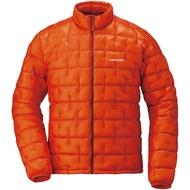 【mont-bell】輕量羽絨外套 橘 1000FP 男款 1101493