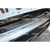 巨城汽車精品 NISSAN SUPER SENTRA 防刮 後護板 材質 白鐵不鏽鋼