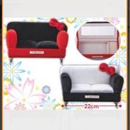 日本空運 景品 hello Kitty 沙發造型 珠寶盒 首飾盒 黑白款