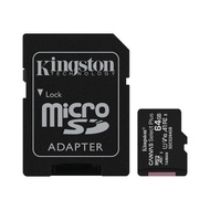 金士頓 記憶卡 【SDCS2/64GB-2】 64GB Micro-SD 含 Mini-SD 轉卡 新風尚潮流