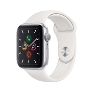 APPLE WATCH SERIES 5 GPS 44MM SILVER ALUMINIUM CASE WITH WHITE SPORT BAND.(ประกันศูนย์1ปี)(มือ1)) สมาร์ทวอทช์ Smart Watches & Fitness Trackers  Smart Electronics  Consumer Electronics