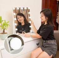 十畝地 - LED智能補光化妝鏡梳妝枱鏡(9燈)#733_00002