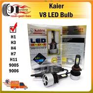 Kaier Led V8 Bulbs H1/H3/H4/H7/H11/9005/9006