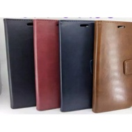 Leather Flip Cover Samsung Galaxy A51 - Wallet Case Kulit - Wallet