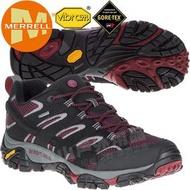 【Merrell】49005 Moab 2 Gore-Te男多功能防水登山健行鞋GTX耐走登山鞋/戶外郊山鞋/健走慢跑鞋