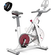YESOUL S3 Indoor Exercise Bike Supports Bluetooth, Smart Connect Cycling Bikes with Heart Rate Monitor, Silent Belt Drive Stationary Fitness Bike for Home Gym with Tablet Holder