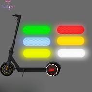 Reflective Sticker 2pcs PVC 9.5x2.7cm Night riding Accessories Durable