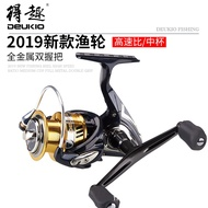 【有才戶外釣具】捲線器  DEUKIO 高速比 BR漁輪 中線杯 雙搖臂 路亞 輪紡車 漁線輪 漁具用品